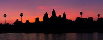 Zonsopkomst bij Angkor Wat, Cambodja van Henk Meijer Photography
