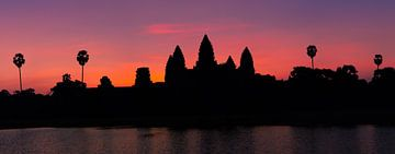Sonnenaufgang in Angkor Wat, Kambodscha