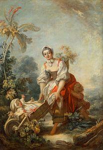 Fragonard, Jean-Honoré - Moederschap van