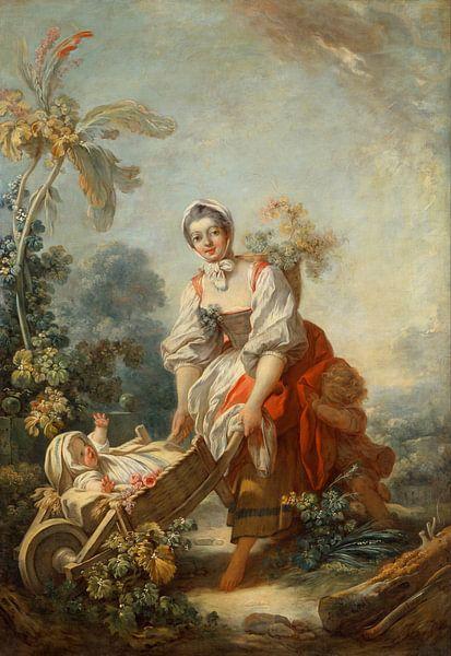 Fragonard, Jean-Honoré - Moederschap van 1000 Schilderijen