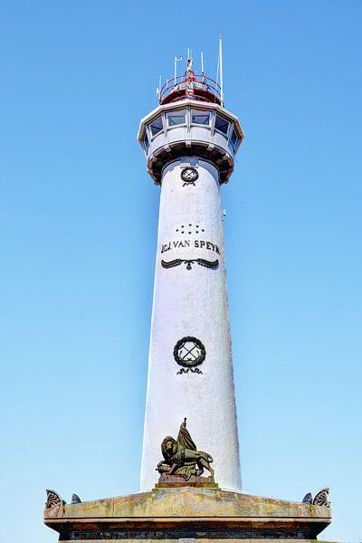 Egmond aan Zee Strand Vuurtoren van Hendrik-Jan Kornelis