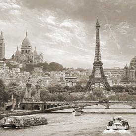Des grands monuments de la capitale comme la Tour Eiffel, Montparnasse, le Sacré Coeur ou encore La Défense