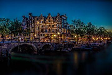 Amsterdam Brouwersgracht von Mario Calma