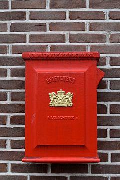 Ouderwetse Nederlandse brievenbus van Gerda Beekers