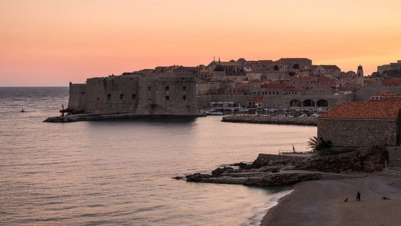 Dubrovnik Sunset van Scott McQuaide