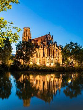 Johanneskirche am Feuersee in Stuttgart-West von Werner Dieterich