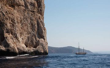 Sardinië Alghero boottocht van Leo Kortenbout