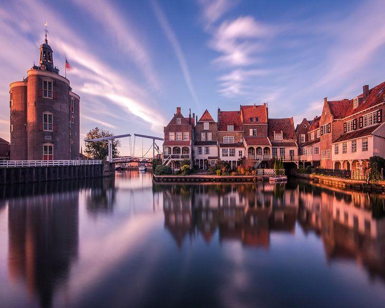 A harbour in Holland van Niels Tichelaar