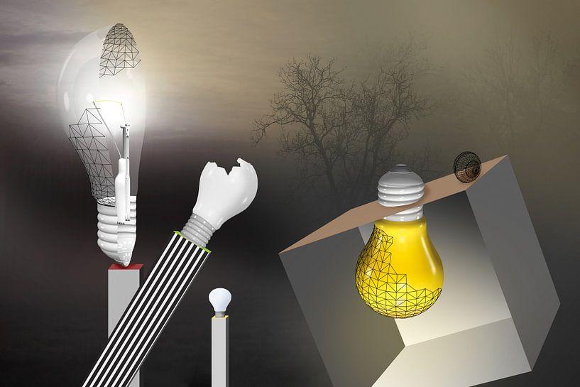 Thomas A.Edison erfindet die Glühbirne von Erich Krätschmer