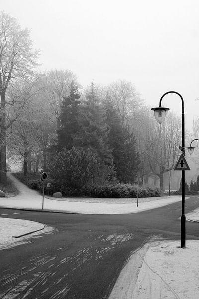 Noorderplantsoen in de Winter 1 van Ronald Hulsebos
