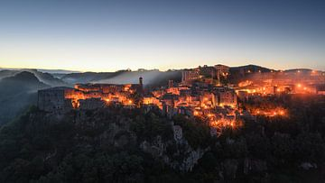 Sorano - Toscane van Robin Oelschlegel