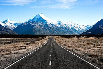 Mount Cook , Nieuw Zeeland #2 van Jan-Hessel Boermans