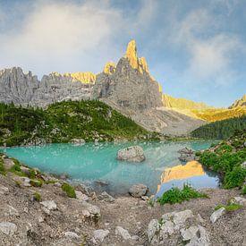 Lago di Sorapis Dolomites sur Michael Valjak