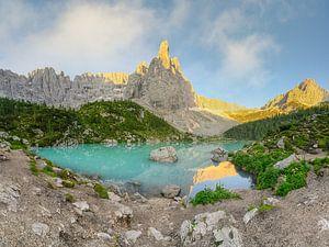 Lago di Sorapis Dolomiten von Michael Valjak