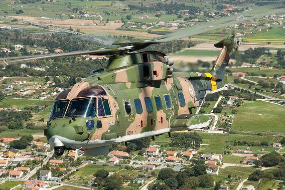 Portugese Luchtmacht EH101 Merlin van Dirk Jan de Ridder