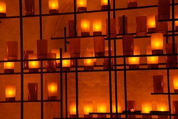 Kandelaars / Candlelights, Sint-Laurenskerk, Rotterdam van