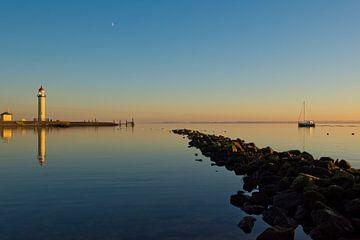 Zonsondergang, Sunset van Janneke Meijburg
