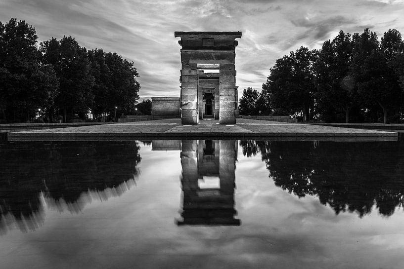 Tempel van Debod - Madrid - 1 van Nuance Beeld