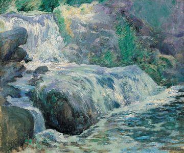 John Henry Twachtman-Wasserfall