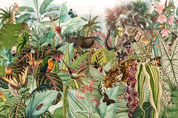 Voller Dschungel von Jadzia Klimkiewicz