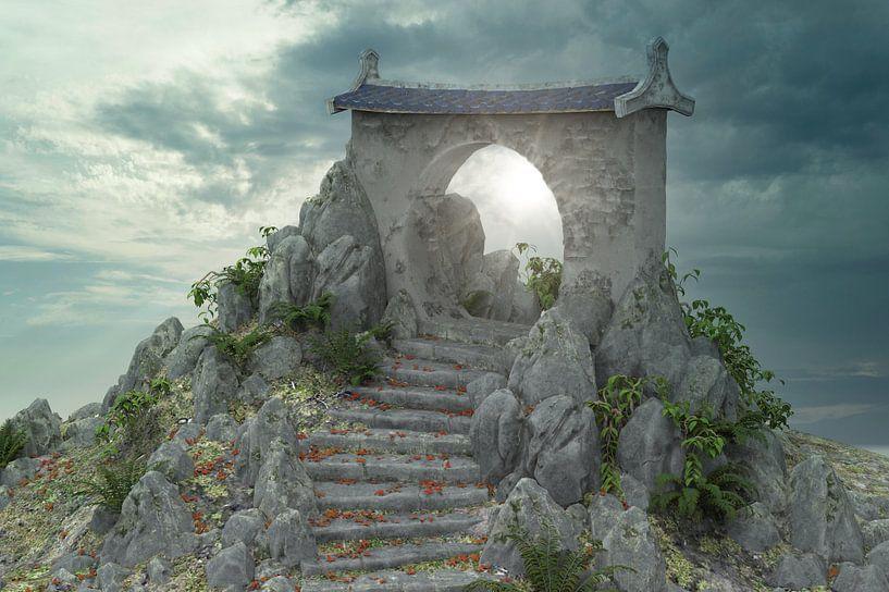 Sunray gate 01 van H.m. Soetens