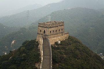 Chinese muur van Kenji Elzerman