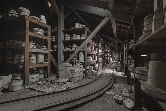 Pottenbakkerij Opslag