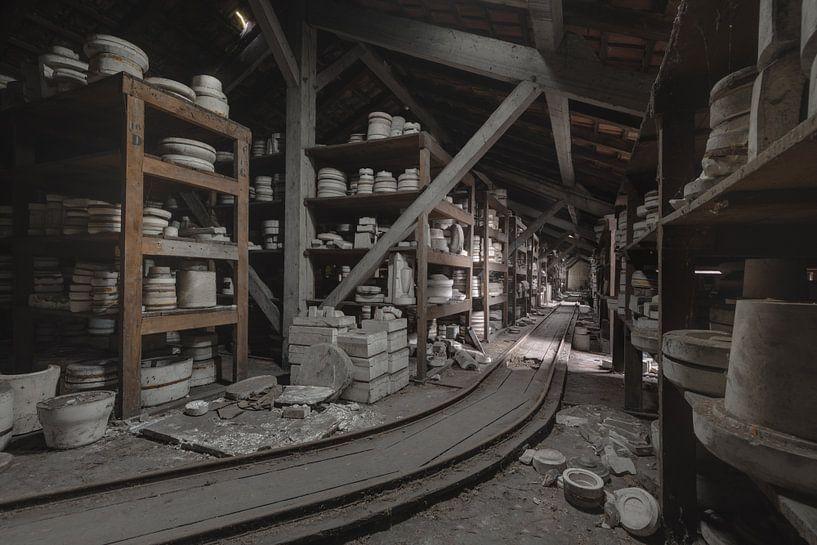 Pottenbakkerij Opslag van Perry Wiertz