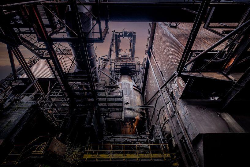 Vergeten metaalindustry von Niki Moens
