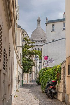 Basilika Sacré-Coeur in Montmartre Paris von Bianca Kramer