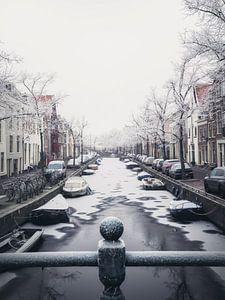 Haarlem: Bakenessergracht winterochtend 1.
