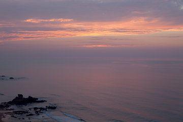 Sonnenuntergang am Meer von Jacqueline Lemmens