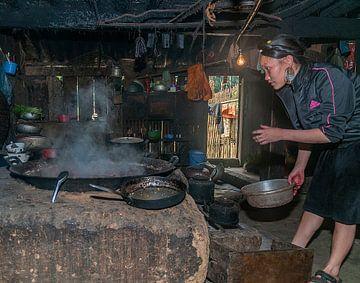 Vietnam: Kok (Cat Cat village) van Maarten Verhees