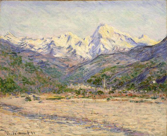 De vallei van de Nervia, Claude Monet