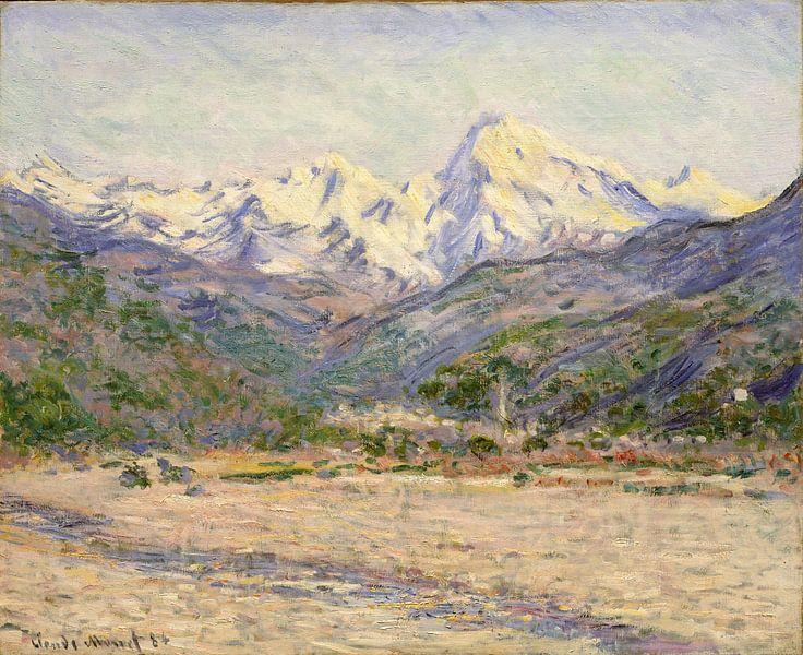 De vallei van de Nervia, Claude Monet van Meesterlijcke Meesters