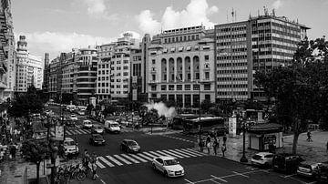 Valencia plaza Ayuntamiento von Jouke de Boer