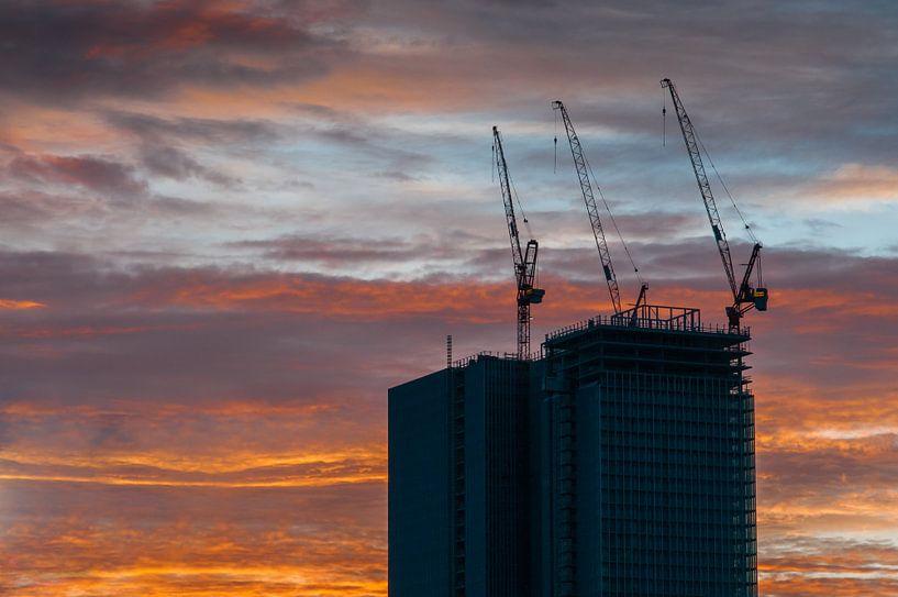 Rotterdam - De Rotterdam in aanbouw van Erik van 't Hof