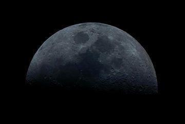 wassende maan van Joran Keij
