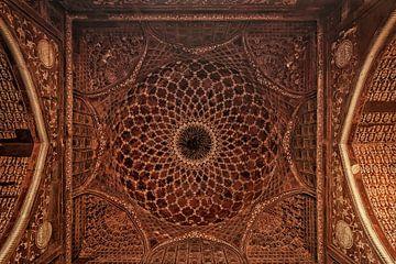Modèle sur le Taj Mahal à Agra, Inde sur Tjeerd Kruse