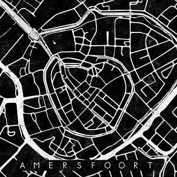 Amersfoort Keistad Stadskern Zwart van Maarten Knops