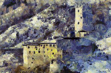 oud kasteel van Jens-Uwe Ernst