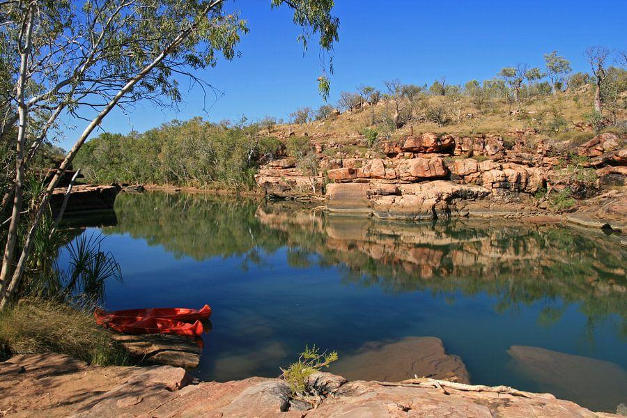 rust in de outback van Australië