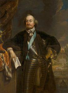 Portret van Johan Maurits, Jan de Baen