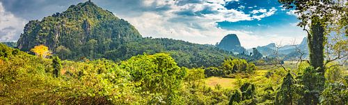 Platteland Noord-Laos
