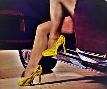 High heels van Frans Klijzen