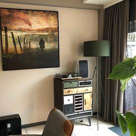 Photo de nos clients: Heathcliff sur Marja van den Hurk, sur toile