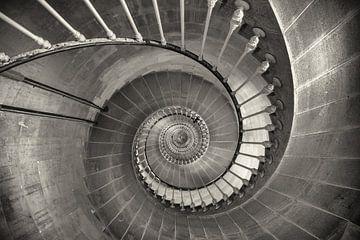 escalier en colimaçon sur Anneke Hooijer