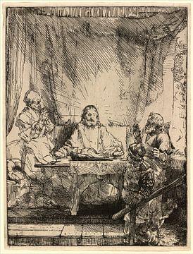 Rembrandt van Rijn, Le Christ à Emmaüs sur