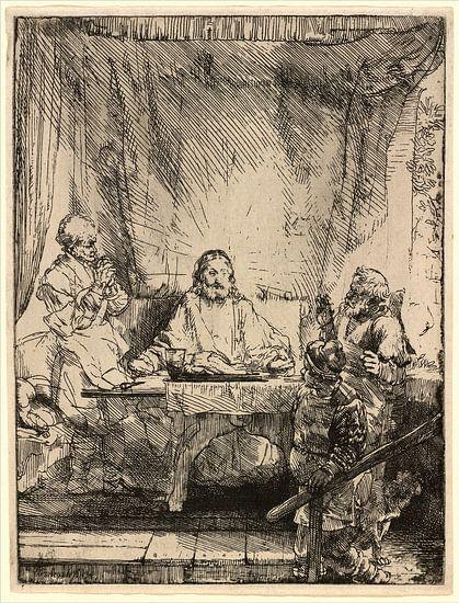 Christus bij Emmaus