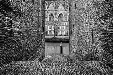 Vue de la Grande Église de Dordrecht sur Danny den Breejen